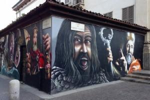 ColonneSanLorenzo murales